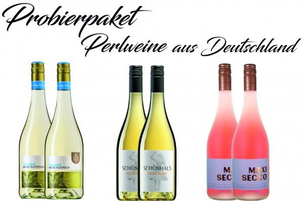 Probierpaket Deutsche Perlweine