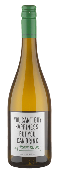 Pinot Blanc trocken 'Happy' - Weingut Emil Bauer