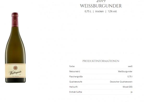 Weissburgunder Terlaner - Muri-Gries