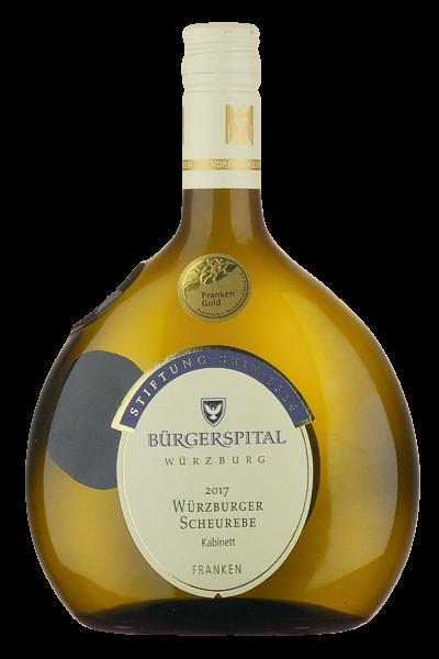 Würzburger Scheurebe Kabinett - Bürgerspital Würzburg