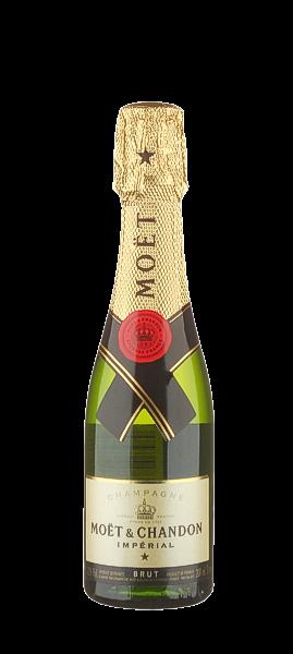 Champagner Mini Moet brut imperial - im Pikkolo