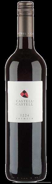 Rotweincuvee 1224 trocken - Fürstlich Castell'sches Domäneamt - Castell
