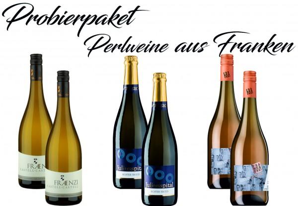 Probierpaket Perlweine aus Franken