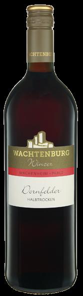 Dornfelder halbtrocken - Wachtenburg Winzer - Wachenheim