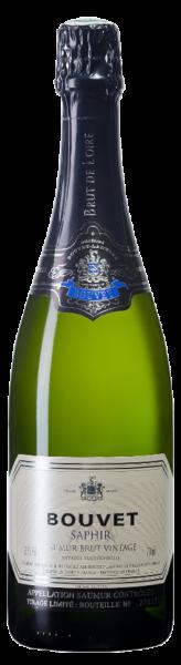 Bouvet Saphir Brut - Bouvet-Ladubay - Halbe Flasche - Demi - 0,375 L