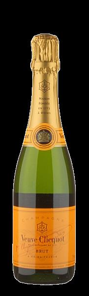 Champagner Veuve Clicquot Ponsardin brut - in halber Flasche