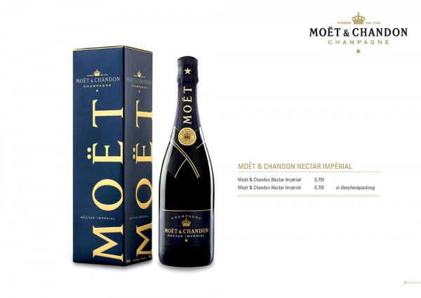 Champagner Moet & Chandon Nectar Imperial demi sec