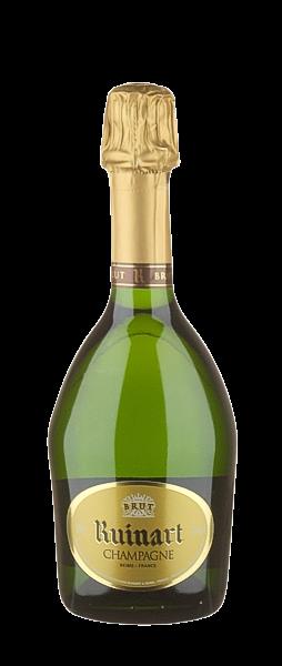 Champagner Ruinart R brut - in halber Flasche