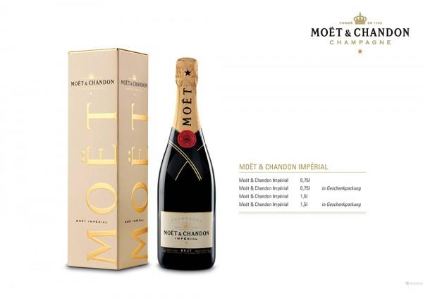 Champagner Moet & Chandon Brut Imperial