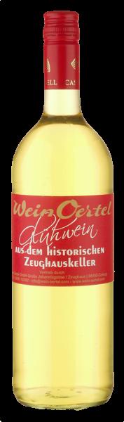 Wein Oertel Weißer Glühwein aus dem Zeughauskeller von Castell