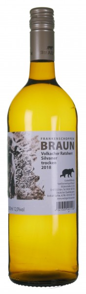 Silvaner trocken - Weingut Heinz Braun - Fahr