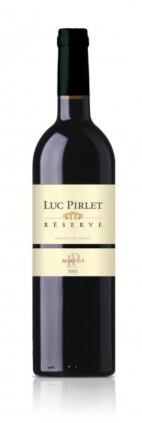 Luc Pirlet Merlot Les Barriques Reserve - Domaine Luc Pirlet