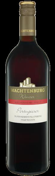 Dürkheimer Feuerberg Portugieser halbtrocken Wachtenburg Winzer - Wachenheim