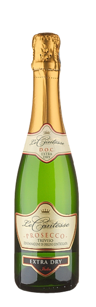 Prosecco Le Contesse Spumante extra dry - Le Contesse - Halbeflasche 0,375 Liter