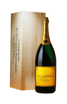Champagner Veuve Clicquot Ponsardin brut Doppelmagnum 3 Liter