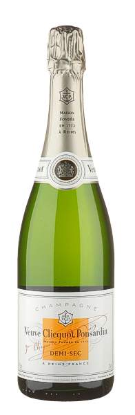 Champagner Veuve Clicquot demi sec