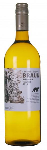 Scheurebe feinherb - Weingut Heinz Braun - Fahr