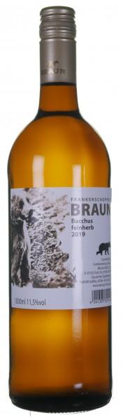 Volkacher Bacchus feinherb - Weingut Heinz Braun Fahr
