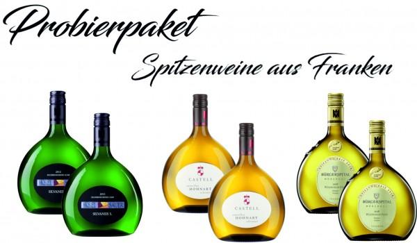 Probierpaket Spitzenweine aus Franken