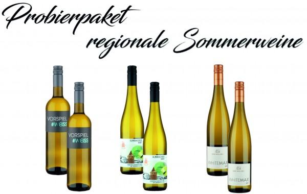 Probierpaket regionale Sommerweine