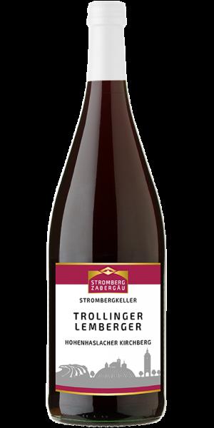Hohenhaslacher Kirchberg Trollinger mit Lemberger halbtrocken - Stromberg Kellerei - Bönnigheim