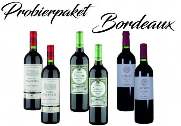 Probierpaket Bordeaux