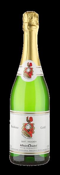 Sekt trocken 'Residenz Gold - Wein Oertel'