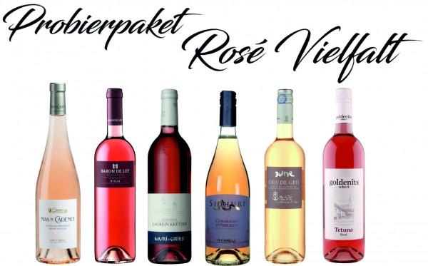 Probierpaket Rosé Vielfalt